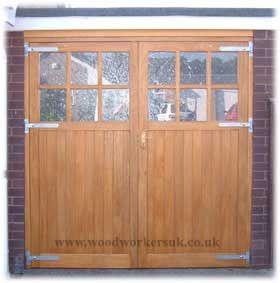 Wooden Garage Doors Hardwood Made To Measure Wooden Garage Doors Garage Doors Garage Doors Uk