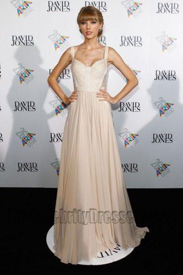 3616e97386c Taylor Swift Prom Dress ARIA Awards 2012 Red Carpet Dresses