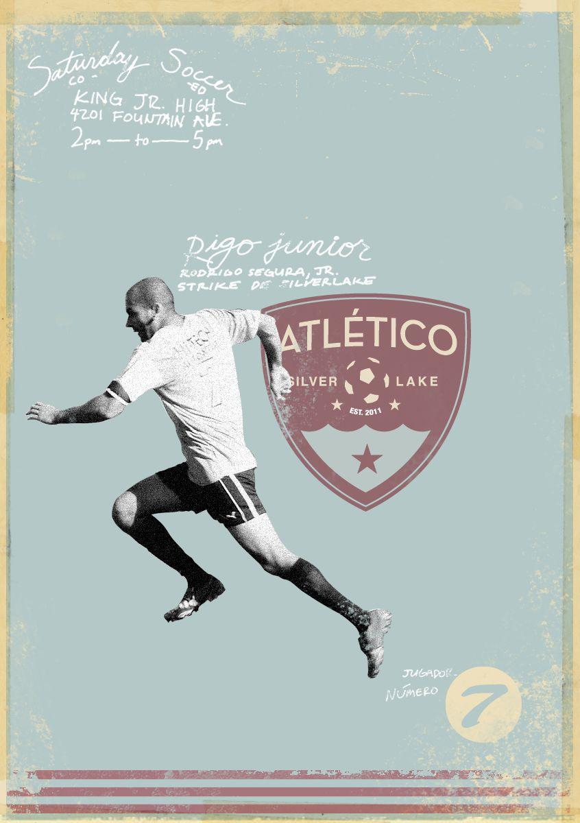 Rigo poster, Atlético Silverlake, soccer, football, fútbol