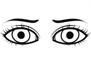 how to draw eyes for kids step 7 teach me to draw Pinterest