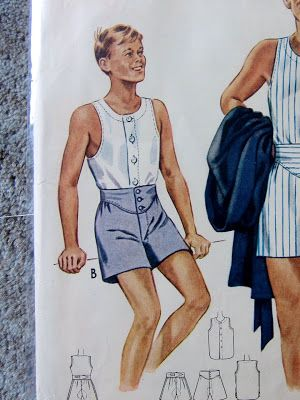 male pattern boldness: FINISHED: the 1941 McCall\'s Mens Undershirt ...