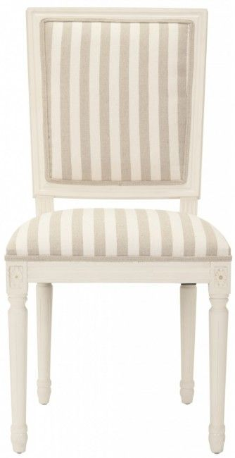 """Use the coupon code """"pinning"""" to save 10% off any item(s) on our online store. Safavieh Home Furnishings - Ashton Rect Side Chair - Cream/Grey - Set of 2, $495.00 (http://www.safaviehhome.com/casual-dining-chairs-ashton-rect-side-chair-cream-grey-set-of-2/mcr4516d-set2)"""