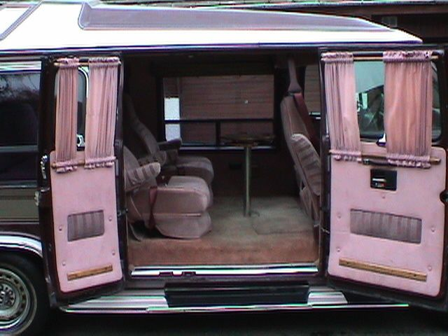 1990 Chevrolet Chevy Van 3 Dr G20 Cargo Van Extended Chevy Van