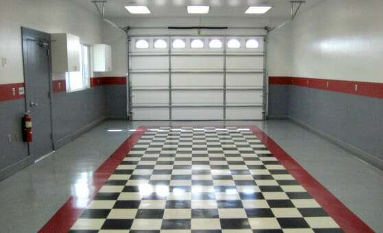 The Benefits of Vinyl Composite Tile (VCT) Garage Flooring | All Garage Floors