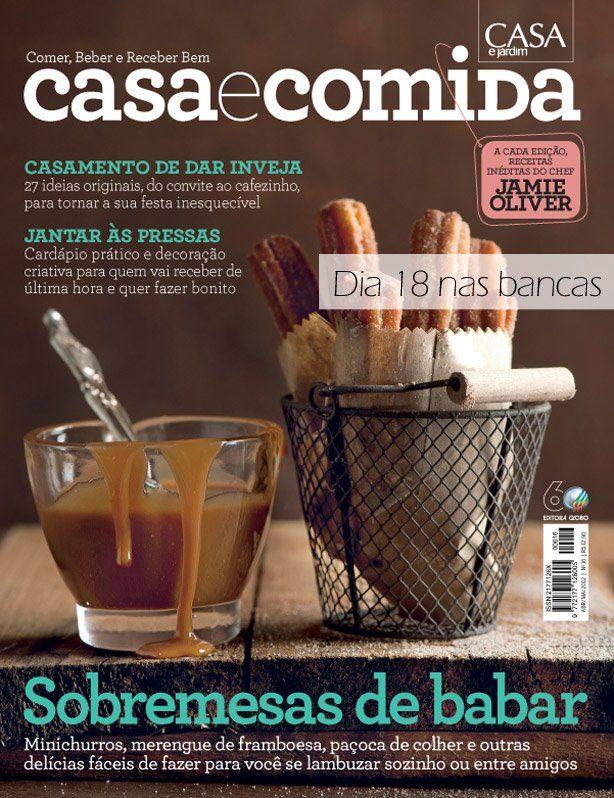 O Baldinho de arame da capa da Revista casaecomida é da VILLA PANO