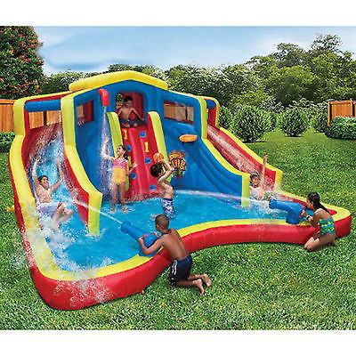Kids Pools With Slides adventure club large inflatable water cannon slide park kid splash
