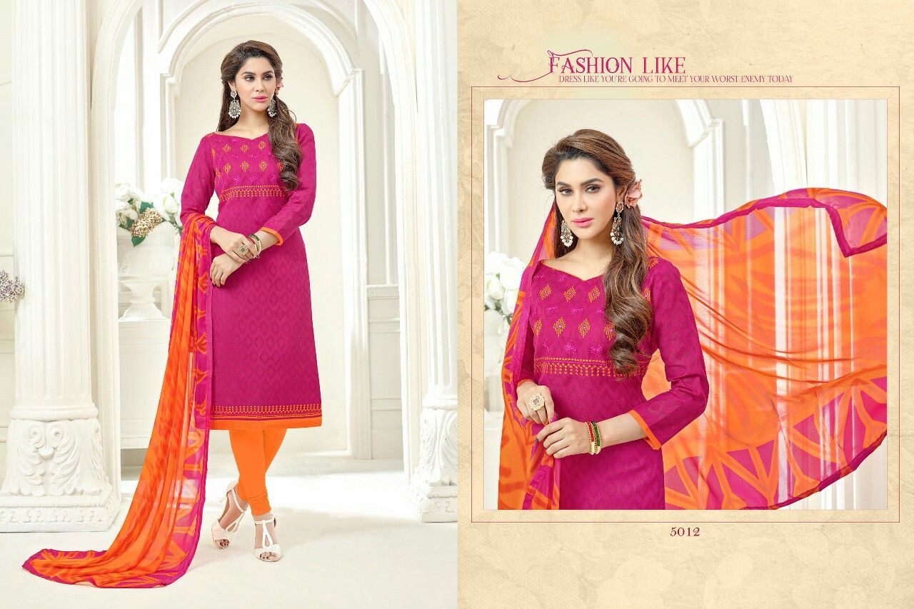 Pink n purple dress  priceRs shipping chargesfor order SMS Topcotton