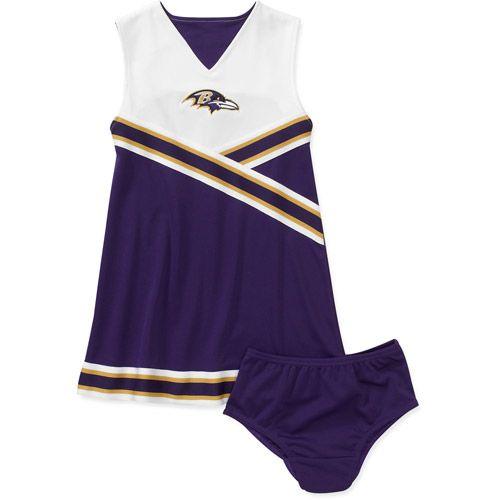 san francisco 8ca87 71fff NFL Girls' Baltimore Ravens Cheerleader: Sports Fan Shop ...