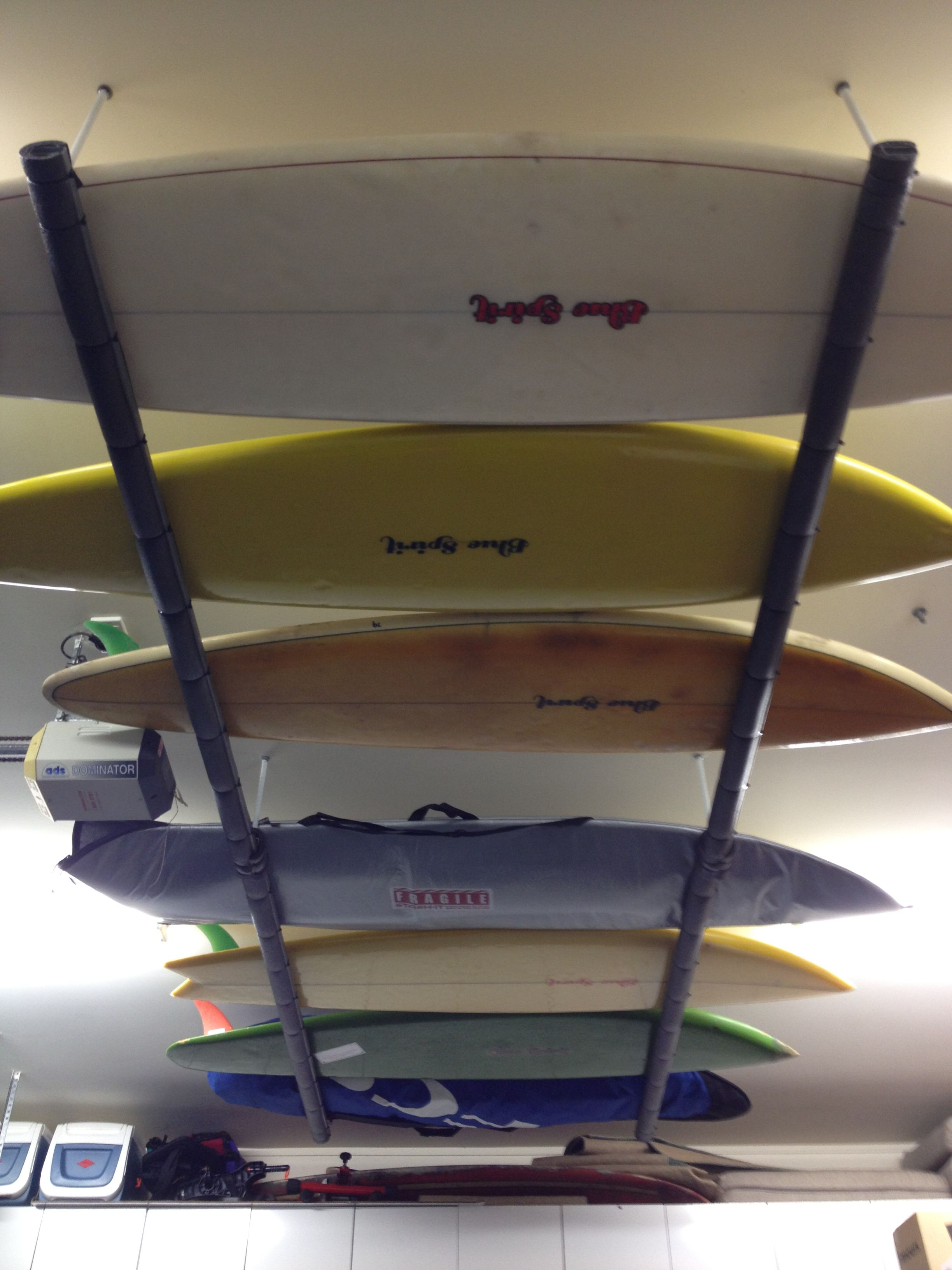 Blue Spirit Surfboard Rack Kayak Storage Rack Surfboard