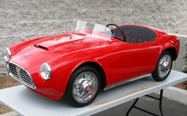 Ferrari Baby Ferrari Bambino Racer V12 Ferrari Electric Childu0027s Car  Convertible 1950