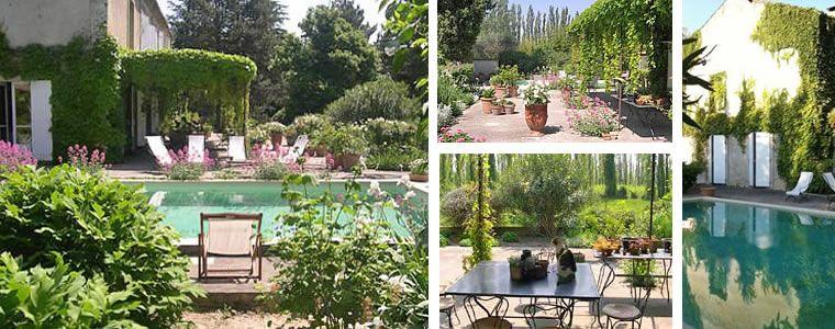 Chambres DHtes Avec Piscine Et Jardin  Avignon  Landscape