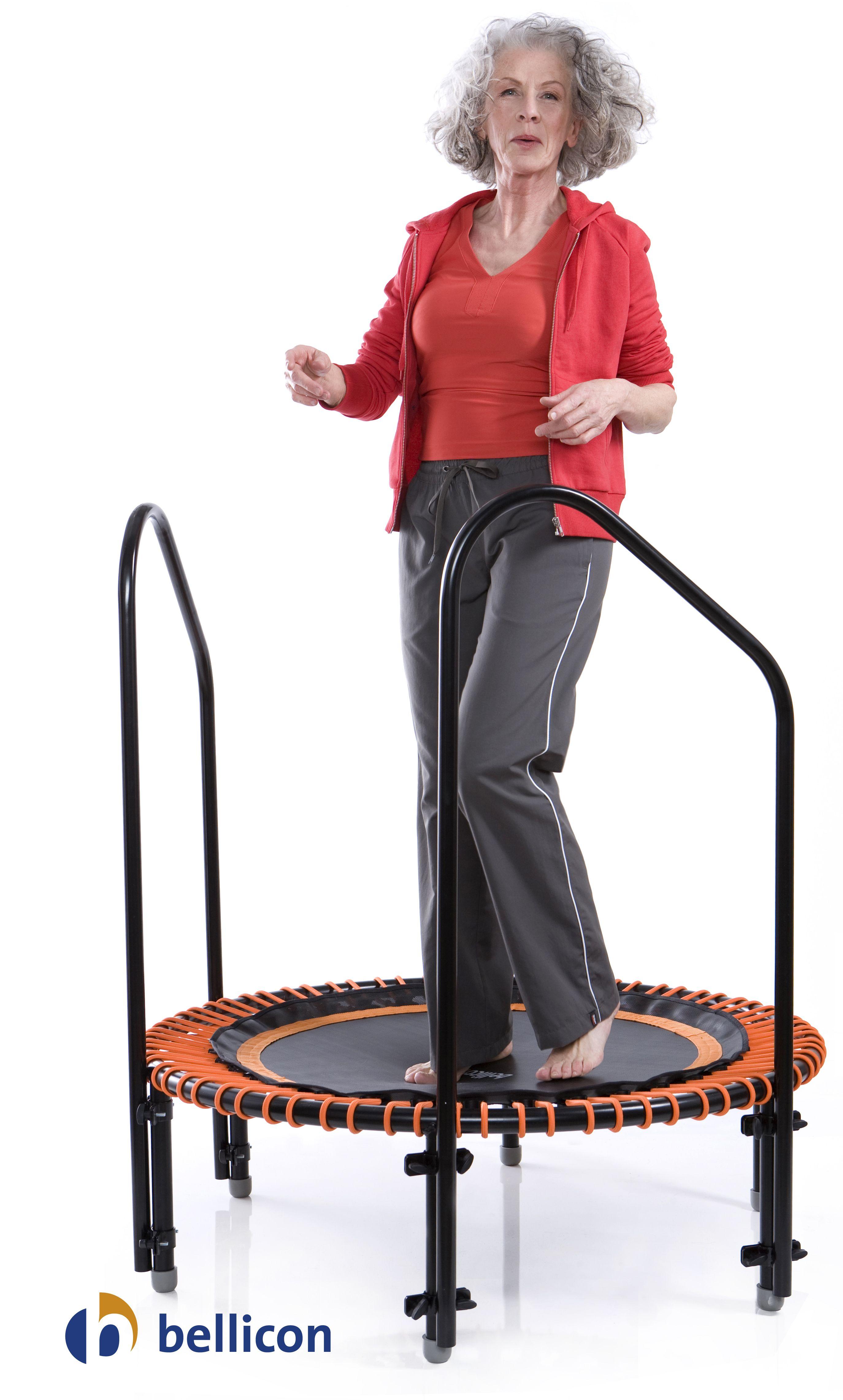 bellicon mini trampolin mit haltegriffen bellicon. Black Bedroom Furniture Sets. Home Design Ideas