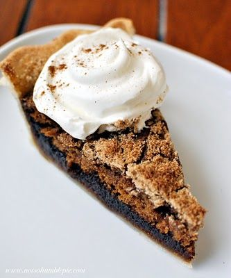 Not So Humble Pie: The Winning Shoo~Fly Pie!