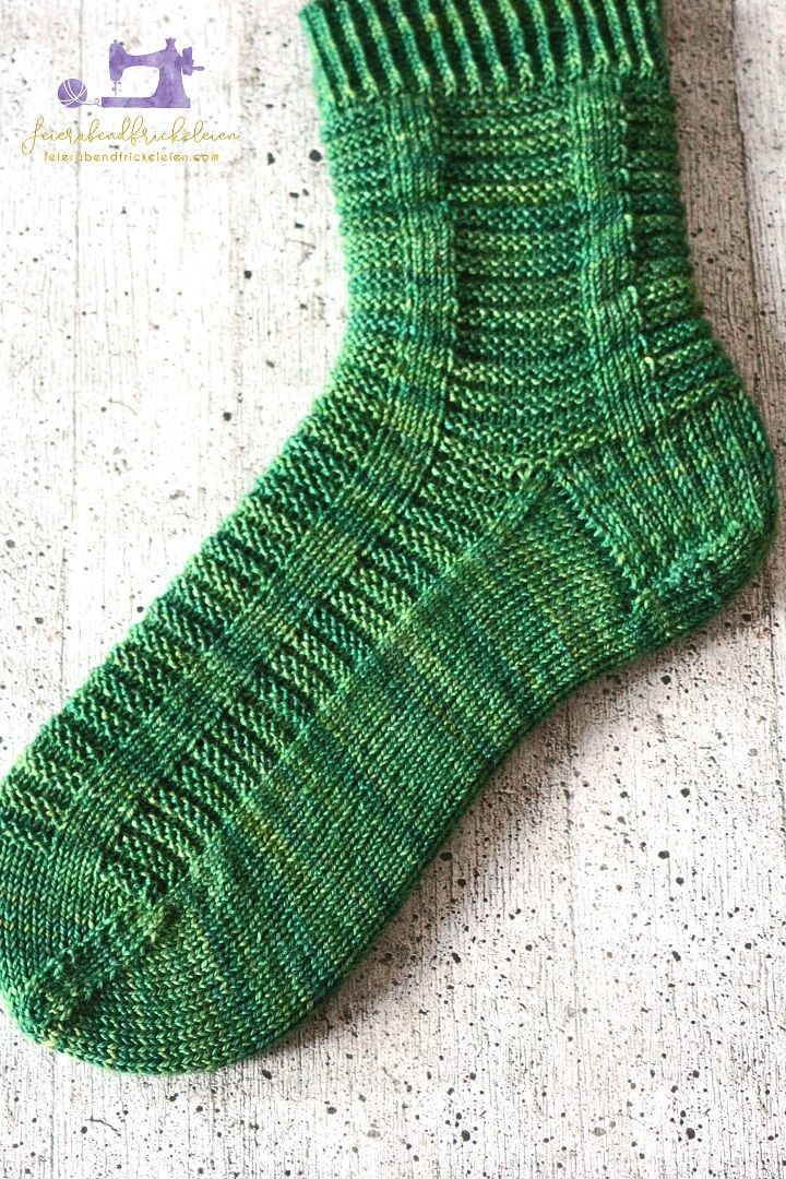 Photo of October socks – Kiel wool sock club