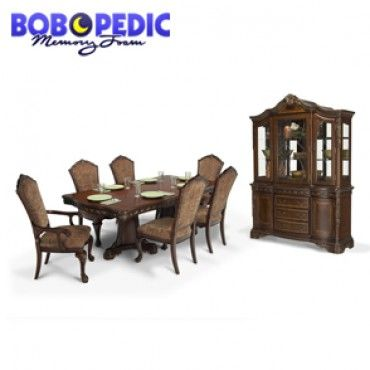Best Majestic 9 Piece Dining Set With China Bobs Dining 400 x 300