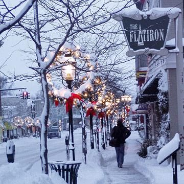 Petoskey, Michigan: One of 10 perfect Christmas shopping getaways in the Midwest.