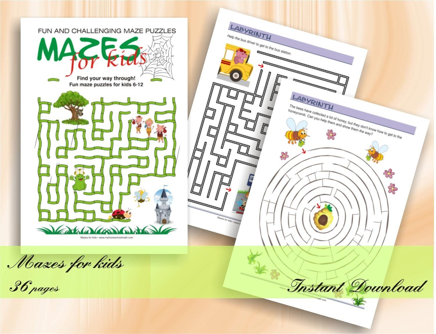 Fun And Challenging Mazes For Kids