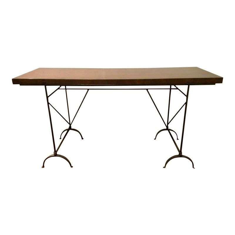 Photo of Hickory Chair Industrial Modern Desk/Console Table