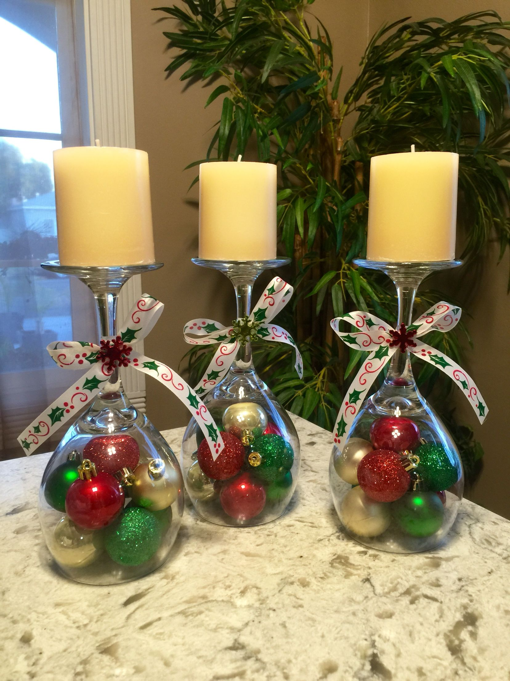 DIY Dollar Tree Christmas Centerpieces / Decorations
