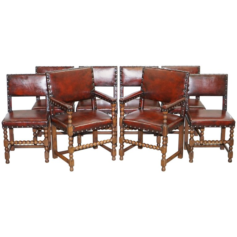 Super 1Stdibs Dining Room Chair 8 Solid Bobbin Restored Hand Creativecarmelina Interior Chair Design Creativecarmelinacom