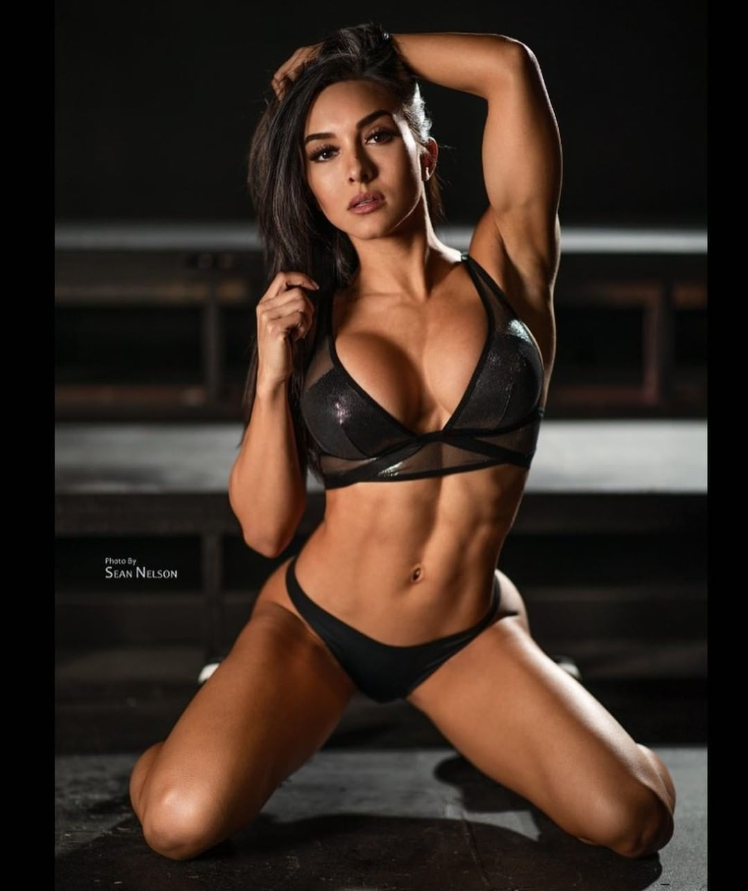126d60981 My  personal  busty  brunette  fitness  hottie  crush - this  babe is   stacked and  sexy  AF -  prime  time  fantasy  material  anytime !!