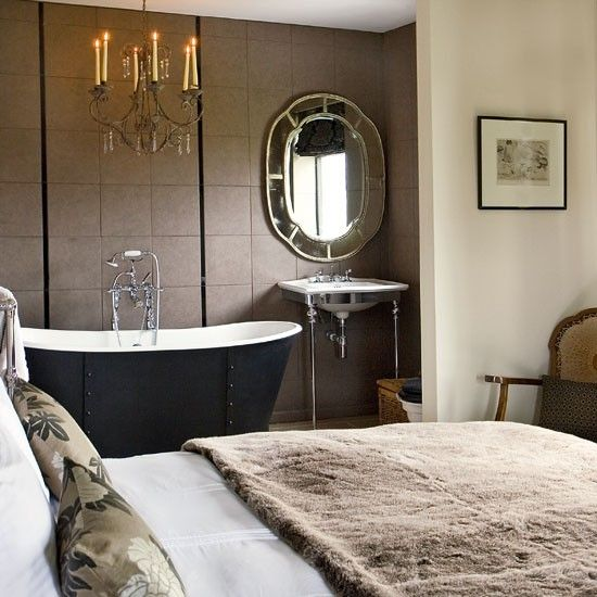 Perfect Bathtub In Bedroom Design | Bedroom With Luxury Bath | Step Inside A Cosy  Fishermanu0027s Cottage