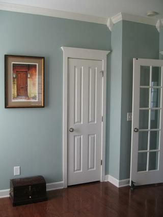 Sherwin Williams Silvermist bedroom and bath Pinterest House