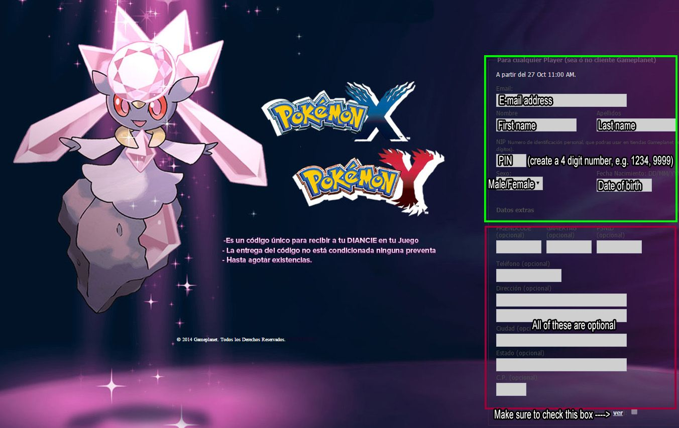 Mystery gift code for genesect alpha sapphire