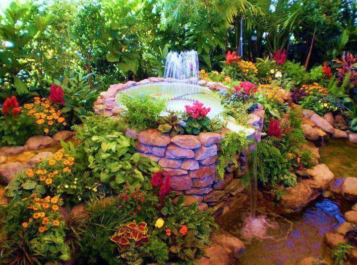 paisajes jardines y flores diseño de interiores Pinterest - paisajes jardines