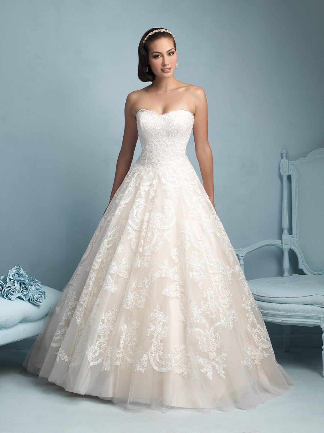 Allure wedding dress  Allure  Available  LOWS BRIDAL  wedding dresses  Pinterest