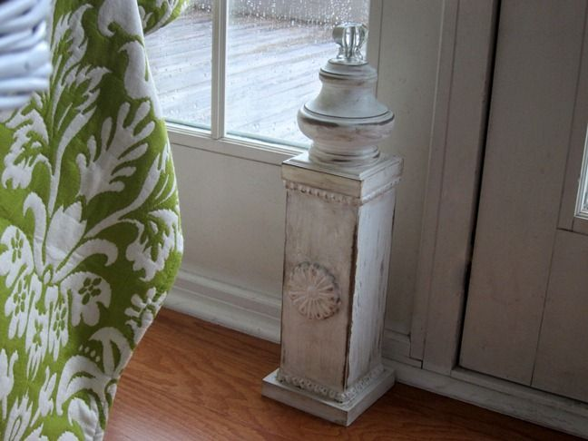 Decorative-Doorstop - hubby made this for me! Fast & easy! Love it ...
