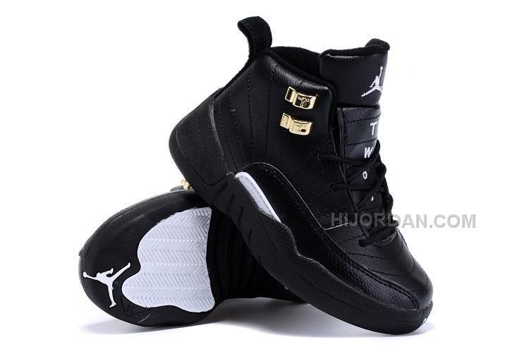 https://www.hijordan.com/kids-air-jordan-12-the-master-sneaker-black-gold.html Only$59.00 KIDS AIR JORDAN 12 THE MASTER SNEAKER BLACK GOLD Free Shipping!