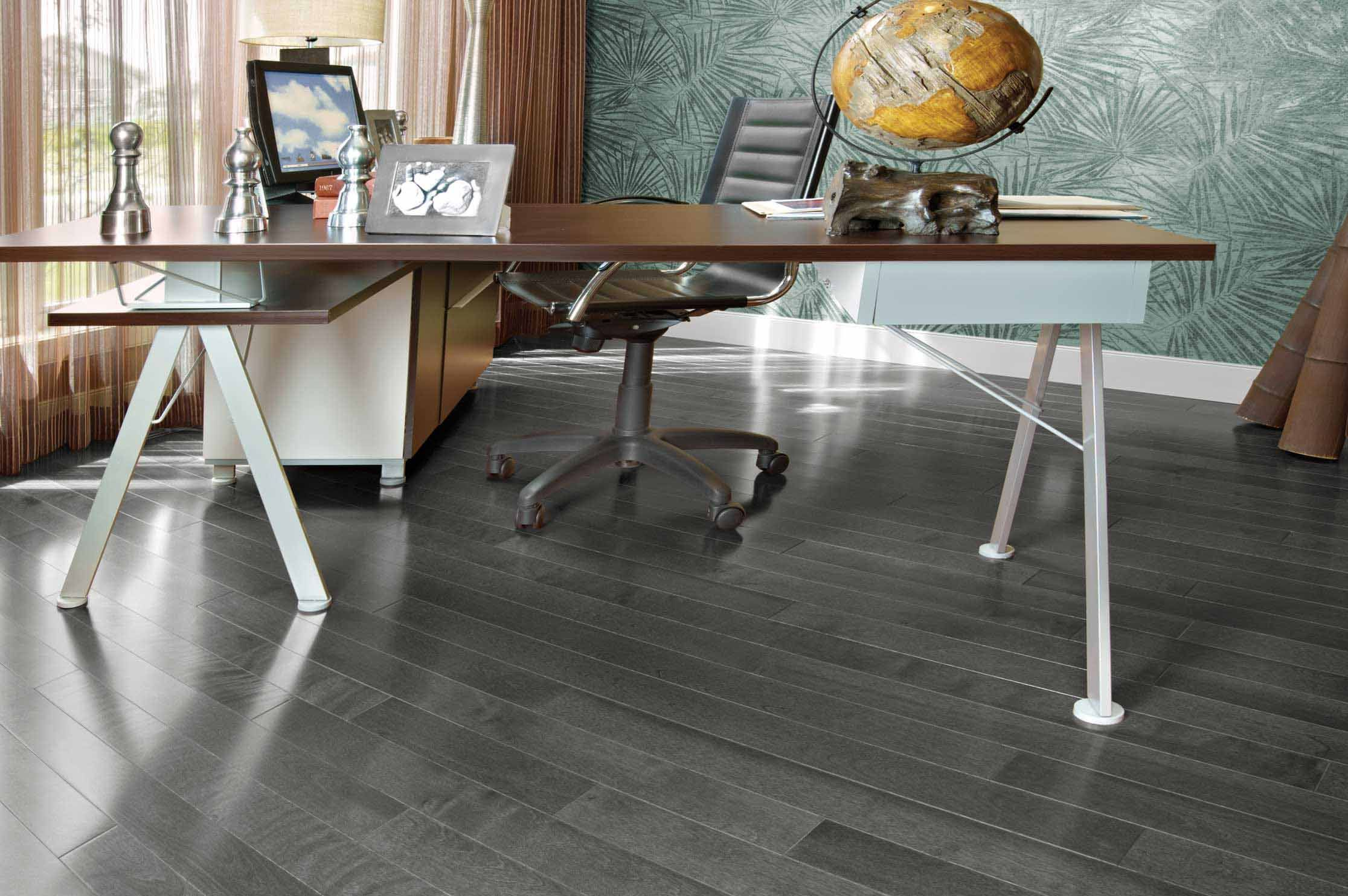 Stylish yellow birch charcoal mirage hardwood floors for Hardwood floors las vegas
