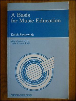 A basis for #music education, swanwick, #keith #paperback book - music education resume