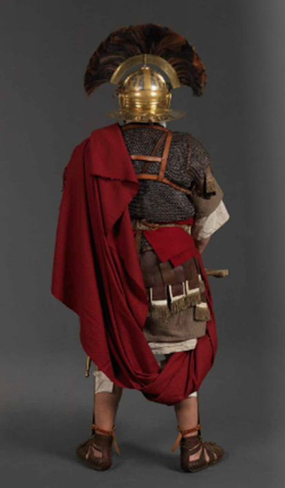 Roman Officer Back Soldados Romanos Legion Romana Romanos