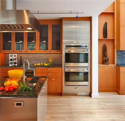 Light Contemporary Kitchen by Wendy Johnson | Contemporary ...