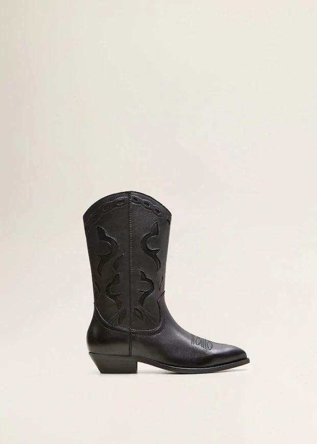 Skorzane Kowbojki Buty Dla Kobieta Outlet Polska Boots Leather Boots Women Leather Boots
