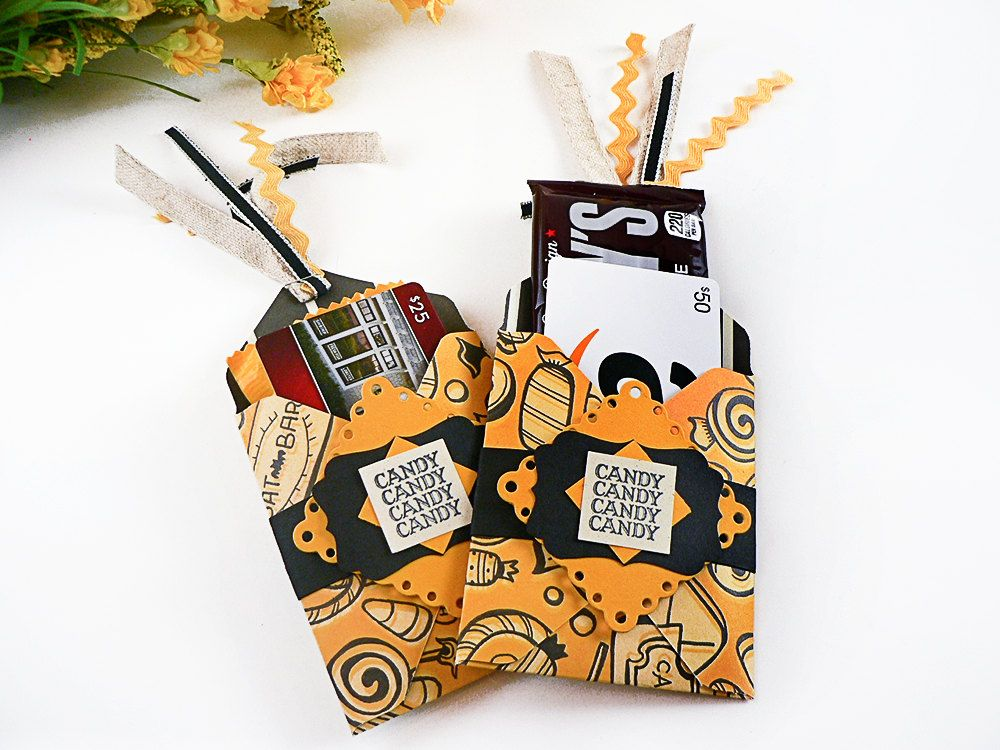 halloween gifts for adults halloween gift bags gift card holders cute halloween gifts by. Black Bedroom Furniture Sets. Home Design Ideas