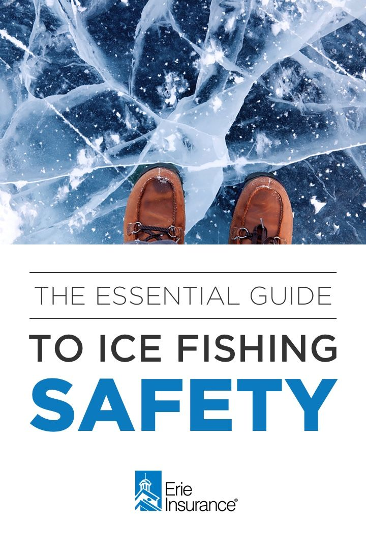 How To Stay Safe While Ice Fishing With Images Ice Fishing