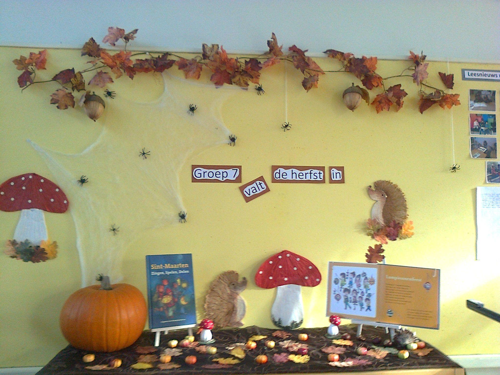 Quatang Gallery- Thema Aankleding Herfst Groep 7 Valt De Herfst In Herfst Halloween Herfst Thema
