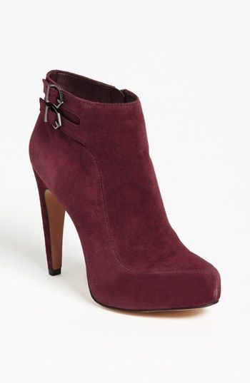 524e530ef Burgundy booties. i m in love! Sam Edelman   ...