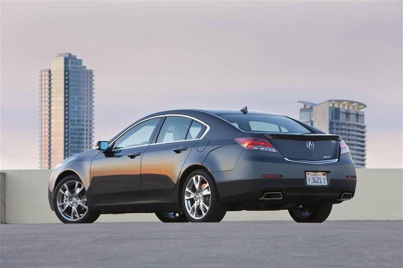 2013 Acura Tl Rear Profile Acura Tl Acura Sedan Cars