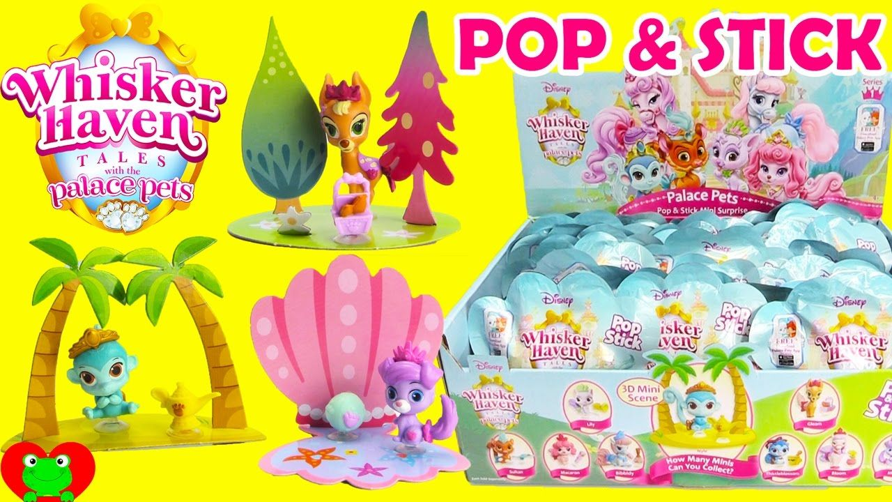 Whisker Haven Palace Pets Pop And Stick Blind Bags Pet Pop Disney Princess Palace Pets Candy Land Birthday Party