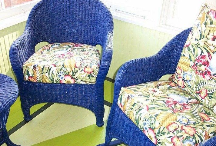 Comment nettoyer et peindre une chaise en osier? | Salon rotin ...