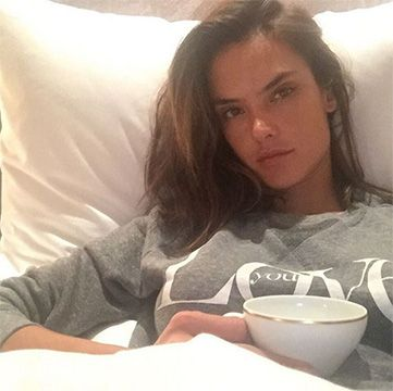 Alessandra Ambrosio wearing a Tyler Jacobs Dee Love Sweatshirt http://api.shopstyle.com/action/apiVisitRetailer?id=506605169&pid=uid7729-3100527-84. #style #celebstyle
