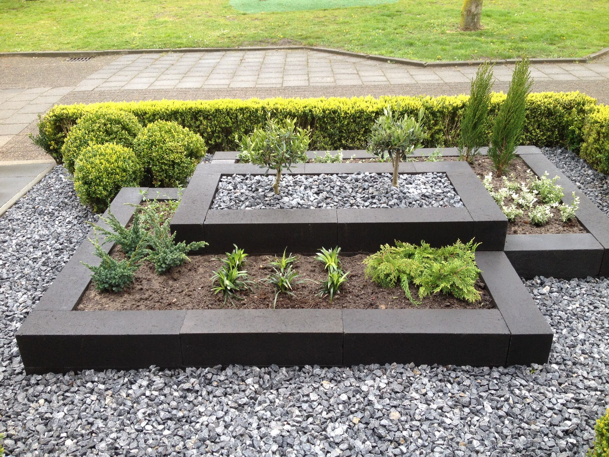 Strakke Voortuin Design De Jardin Potager Design Jardin Idees Jardin