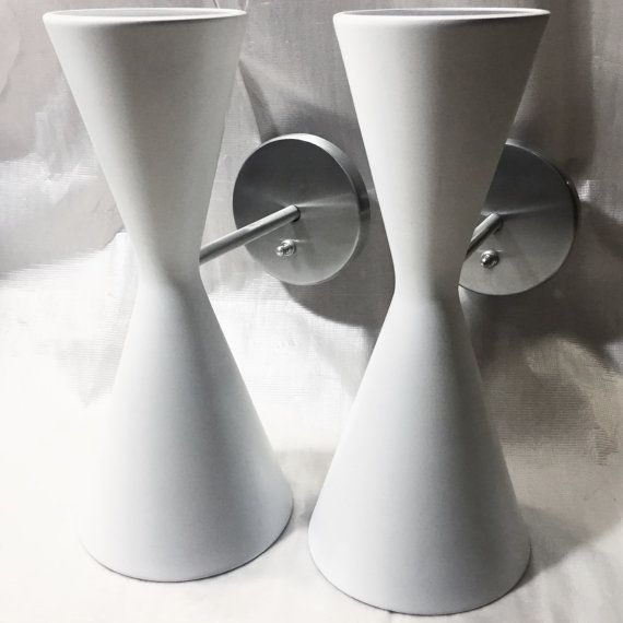 Gotham Lighting Dual Cone Wall Sconces by BluegillModern on Etsy & Gotham Lighting Dual Cone Wall Sconces by BluegillModern on Etsy ... azcodes.com