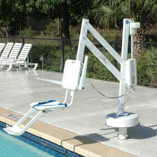 S R Smith Splash Pool Lift S R Smith Power Pool Lifts Portable Pools Pool Hot Tub Handicap Accessible Home