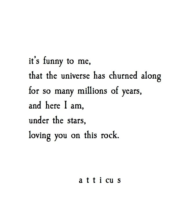 Love Under The Stars Quotes: Loving You On This Rock.