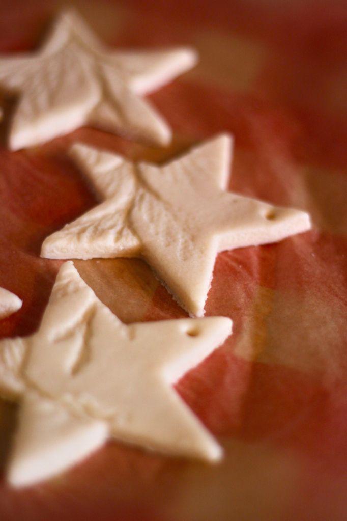 salt dough ornaments diy with the help of little hands dough